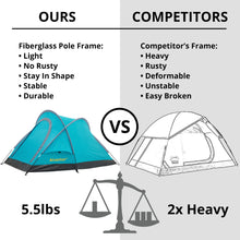 Load image into Gallery viewer, Camping Tent Outdoor Warrior Pro