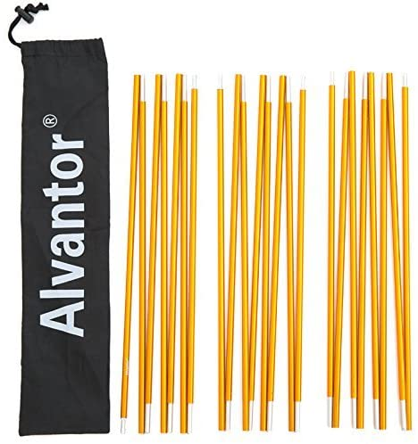 Alvantor Aluminum replacement pole for Warrior Pro camping tents