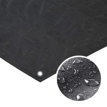 Load image into Gallery viewer, Hexagon Tarpaulin Cover PE Floor Mat