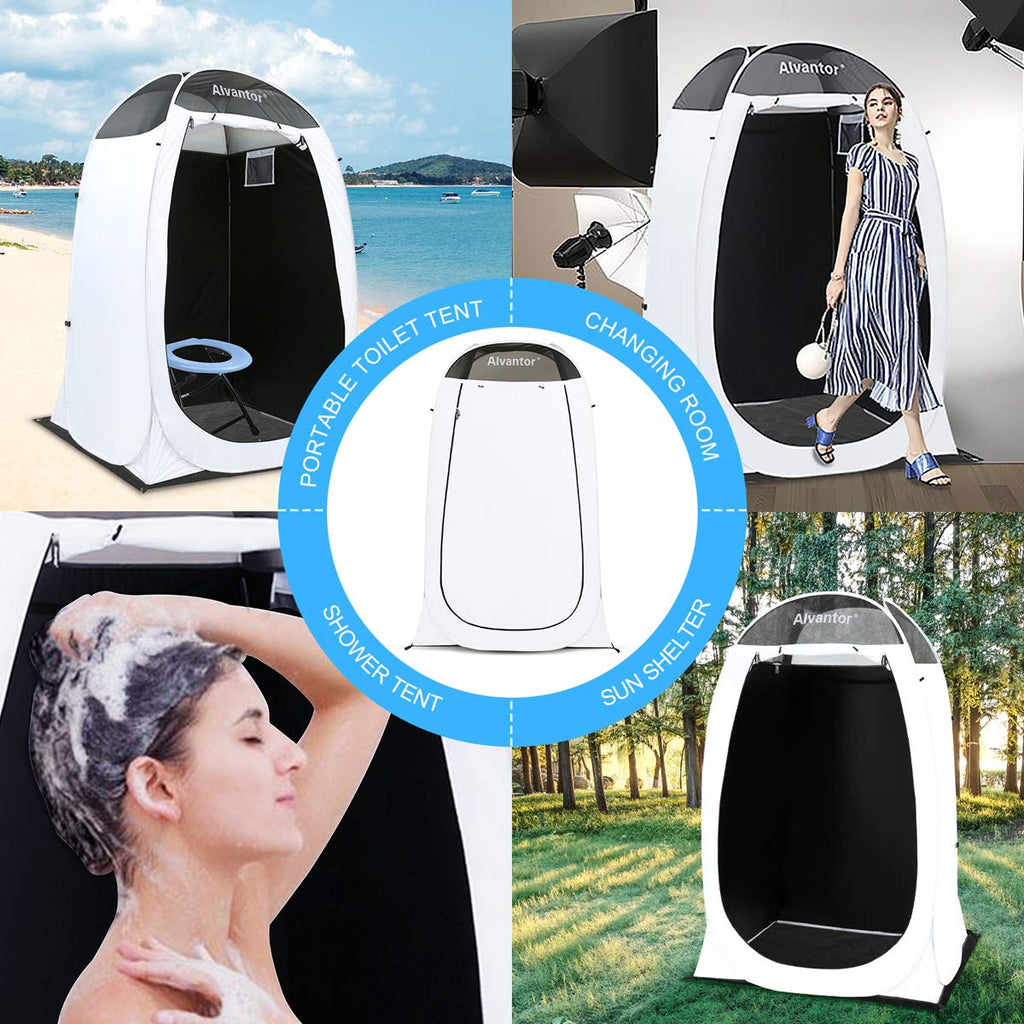 Private Outdoor Teflon Shower Tent