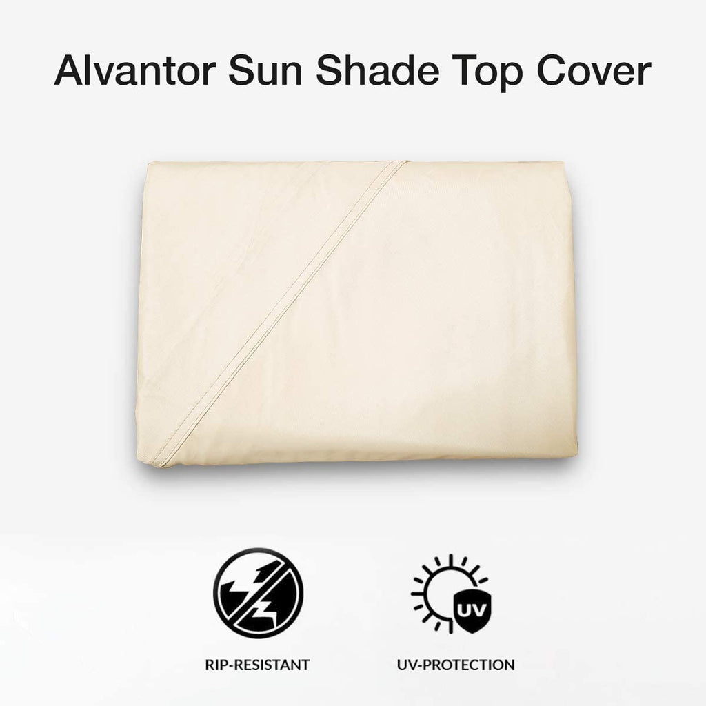 Alvantor Water-proof Sun Shade Sails Canopy Top Covers UV Block for Alvantor Bubble Tent™