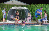 Alvantor 12'x12' Outdoor Instant Pop Up Screen House Canopy Gazebo Screen Shelter Patented