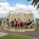 Alvantor 15'×15' Bubble Tent™ Outdoor Pop Up Gazebo™ for Canopy with Zippers, for Parties and Outdoor Activities Patented