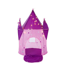 Load image into Gallery viewer, Crystal Castle Princess  Tent with LED