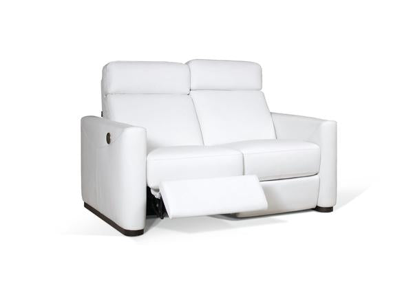 Pizzutti Loveseat con 2 reclinables eléctricos (2RR)