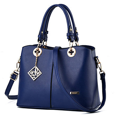 Women's Bags Tote / Zipper Rivet Fuchsia / Red / Blue