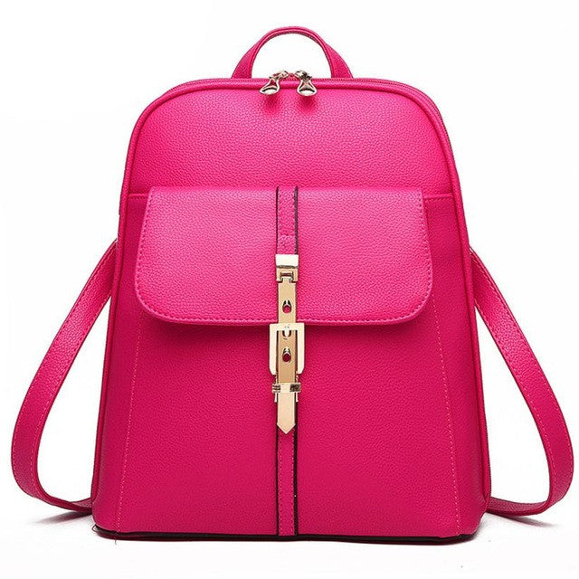 2018 Women iCandy Rucksack Leather Backpack