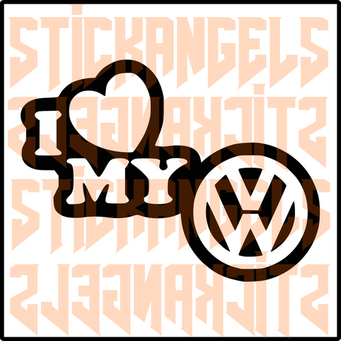 ST000085SA - I love My Vw