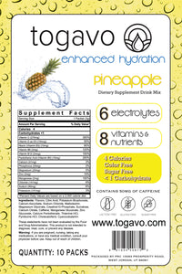 Togavo Pineapple (10 Pack) + Free 3 Day Shipping!