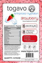 Togavo Strawberry (30 Pack) + Free Shipping! (Ships Mid-September)