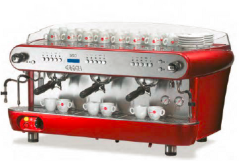 Gaggia Deco 3 Groupe Rouge
