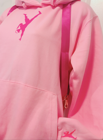 Fight Back Against Breast Cancer! - Pink GYM STAR MAN Hoodie