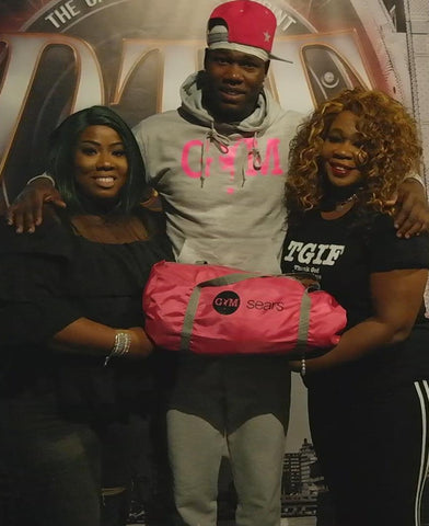 Fight Back Against Breast Cancer! - GYM STAR x Sears Gym Bag