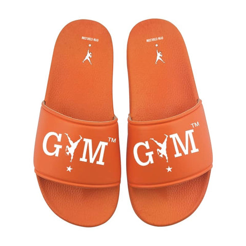 GYM STAR Comfy Slides in Orange