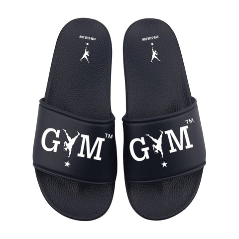 GYM STAR Comfy Slides in Navy Blue
