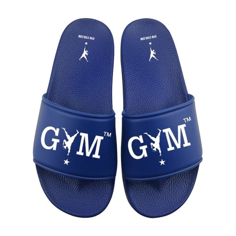 GYM STAR Comfy Slides in Royal Blue