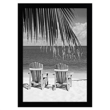 Load image into Gallery viewer, 13x19 Black Poster Frame - Shatter-Resistant Glass - Hanging Hardware Included