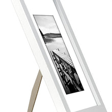 Load image into Gallery viewer, 15 Pack - 8x10 White Picture Frames - Display Pictures 5x7 with Mats or 8x10 without Mats - Wall Mounting Materials Included