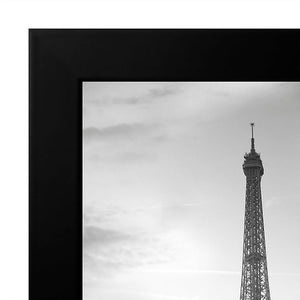 8x12 Black Picture Frame - Shatter-Resistant Glass Included