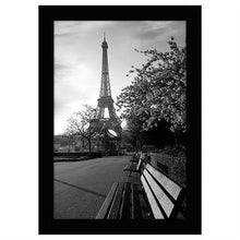 Load image into Gallery viewer, 8x12 Black Picture Frame - Shatter-Resistant Glass Included