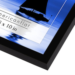 12 Pack - 8x10 Black Frames with Glass Fronts