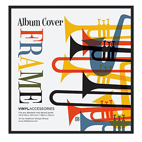 Top Rated Album Frame - Made to Display Album Covers and LP Covers 12.5