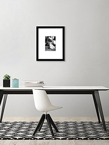 Americanflat 11x14 Black Wall Picture Frame Display Pictures 5x7
