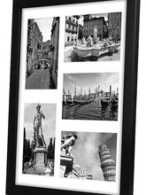 Load image into Gallery viewer, Collage Picture Frame 11x14 - Display Five 4x6 Pictures with Mat and Glass Protection - Top Selling Multiple Picture Frame