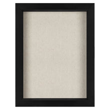 Load image into Gallery viewer, 8.5x11 Document Shadow Box Frame - Soft Linen Back - Perfect to Display Memorabilia, Pins, Awards, Medals, Tickets, Photos