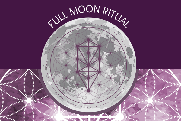 Full Moon Ritual Releasing and Finding Balance with Lunar Energies