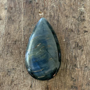 Blue Tigers Eye Cabochon