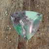 Natural Variscite Trillion Cabochon