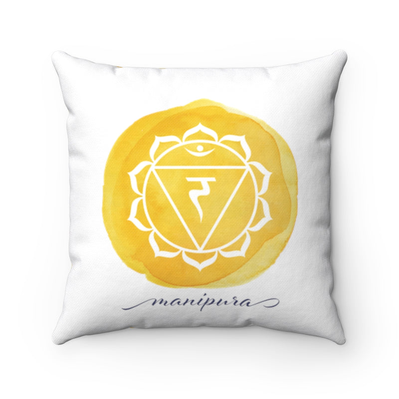 Solar Plexus Chakra Decorative Pillow