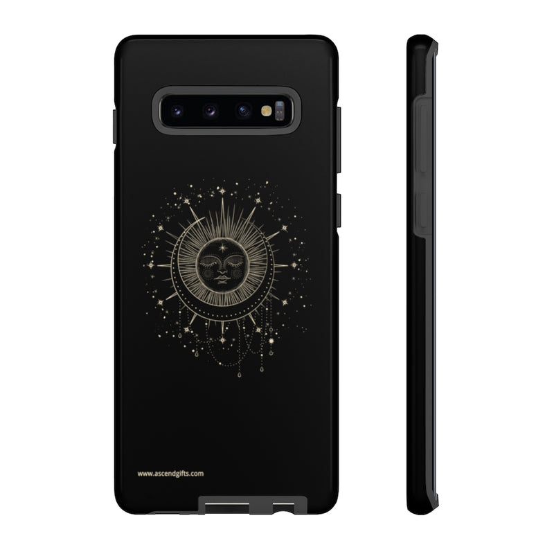 Sleeping Sun and Moon Phone Case