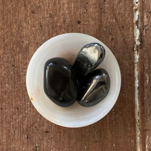 EMF Protection Bowl, Onyx Bowl, Protection Crystals, Protection Stones