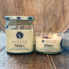 Full Moon Crystal Intention Candles-Medium