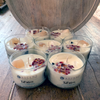 Full Moon Crystal Intention Candles-Small