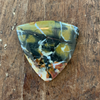 Maligano Jasper Cabochon Trillion Cut
