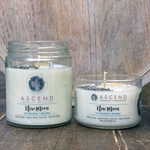 New Moon Crystal Intention Candles-Medium