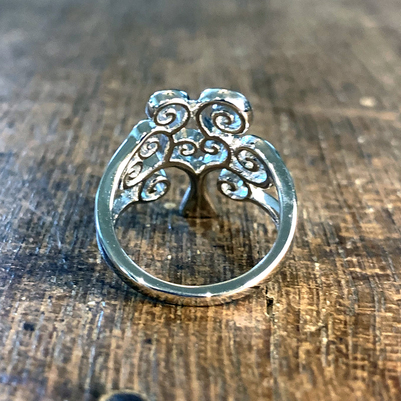 Tree of Life Sterling Silver Ring