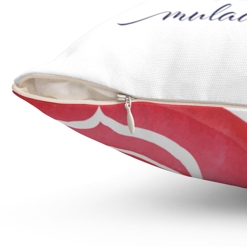 Root Chakra Decorative Pillow