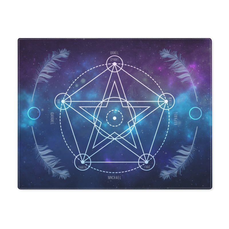 Pentacle Crystal Grid Board