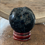 Black Tourmaline Sphere, Crystal Sphere