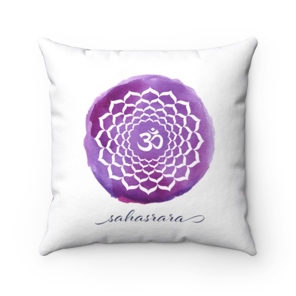 Crown Chakra Decorative Pillow