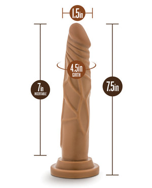 "Blush Willy's 7.5"" Silicone Dildo & Suction Cup"