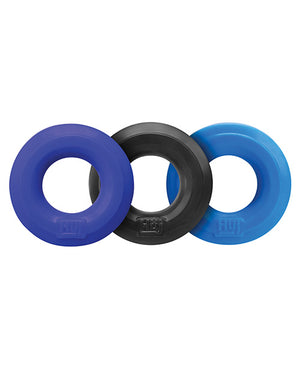 Hunky Junk C Ring Multi Pack - Asst. Colors Pack Of 3