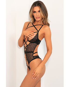 Rene Rofe Exquisite Restriction Teddy Black