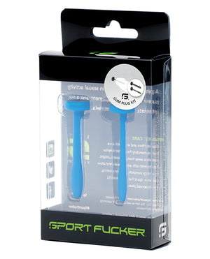 Sport Fucker Cum Plug Kit - Blue