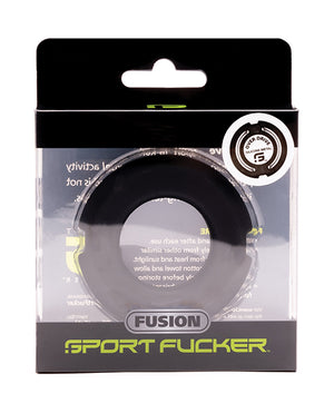 Sport Fucker Fusion Overdrive Ring Mm - Black