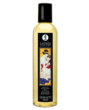 Shunga Erotic Massage Oil - 8.5 Oz Monoi